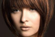 schokofarbene Haare