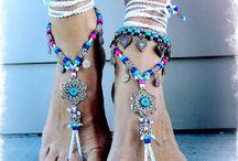a pulseira de tornozelo