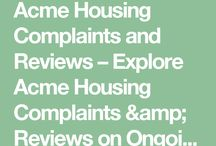 Acme Housing Complaints & Reviews / Explore Acme Housing Complaints & Reviews from existing customers.