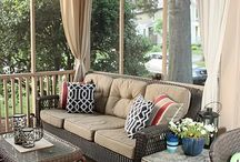 Screened porch decor / by Christie Clerc