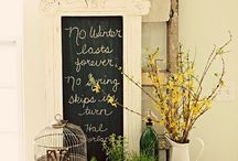 Spring Decor / by Emily Di Giacomo