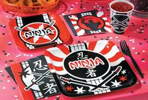 Ninja Party / Party like a ninja with these ninja party ideas, including decorations, party favors and party supplies.