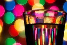 Rengarenk, balon, ışıltı