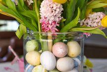 Húsvéti,tavaszi dekoráció
