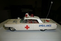Ambulance Vintage Toy Cars