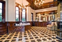 Galeria łazienek / Wspaniałe aranżacje łazienek przy wykorzystaniu kamienia naturalnego.