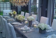 Dining Room or Tablescapes