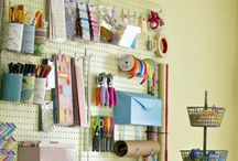 Sewing room / by Kindra Hayes