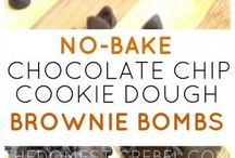 no bake chocolate chip cookie dough