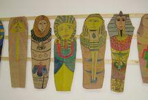 Art projekt: ókori Egyiptom- Art Projects: ancient Egypt