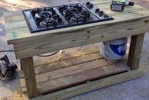 gas garden stove