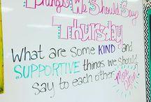 Daily classroom themes Thursday