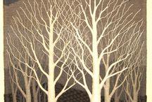 Гобелен дерева