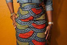 African print love