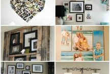 Photo display ideas / by Lisa Ripp