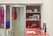 Quarto pequeno / Ideias para quarto pequeno ficar funcional