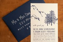 Invitation ideas / Wedding invitation ideas / by lilaged
