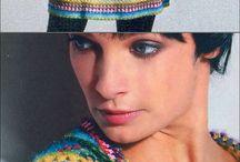 разноцветное вязание