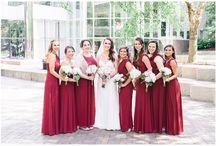Bridesmaid Inspiration / Bridesmaids dresses inspiration photos from Shalese Danielle, a Richmond VA wedding photographer.