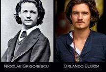 I Look Like Who/What? / Time Traveling Celebrities to What You Look Like! / by Kristen Cavanaugh