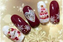 Winter/ Christmas nails