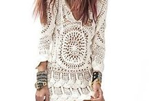 Vestidos de crochet