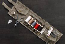 Roll-Up Sewing Kit