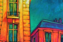 doodle homes and buildings / by Anna Bishop