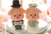 Inspiration - Wedding Cake Toppers