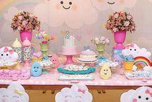 tema de decoração de festa de aniversário