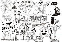 handlettering halloween
