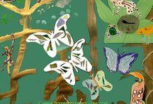 Preschool theme Rainforest