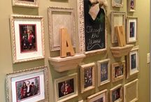 photo frames wall