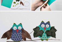 Crafts/ knutsel ideetjes / Knutsel ideeën