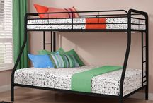 Bunk Beds- Twin over Full/Futon / All types of bed frames, from twin to CA King, basic to fancy upholstered, canopy, loft style, trundle, bunk beds and more.