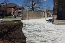 Concrete Front Entrance & Porches