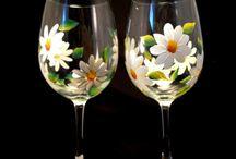 vidros pintados