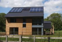 Parti - Passive House / Identify a sample of designs and architectural features for a new Passive House.