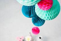 Paper decoration  / Met iets simpels als papier is er heel veel moois te maken!