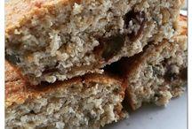 Pão de bata doce e aveia