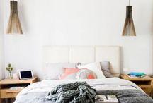 Bedroom ideas / Bed head