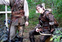 medieval bandit clothes