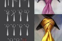wiązanie krawatów