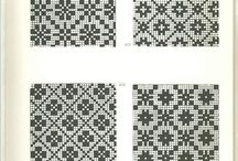 div mønster til sokker,votter
