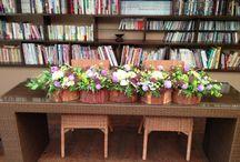 会場装飾花 / cokia marbleによるウエディングフラワー!