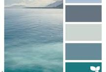 Color palettes soothing
