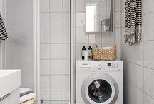 koupelna a pračka