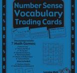 Number Sense Vocabulary Trading Cards / by Buysellteach