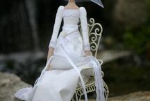 свадебная куколка