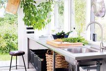 Kuchnia w stylu EKO ! / Naturalne akcenty, rośliny, nacisk na ekologię - coraz bardziej popularny trend!